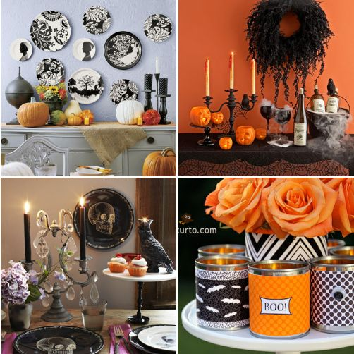 #Halloween: Table Decor? #spooky #home #decor #party