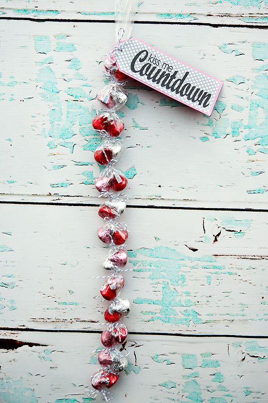 kiss me countdown-valentine's
