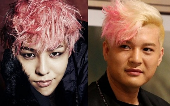 "Shindong admits his girlfriend has G-Dragon's photo as her cell phone wallpaper.. OMG HE SAID SO IN ""The Leaders"" XD"
