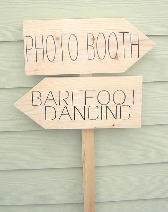 DIY Wedding Sign Kit  Featured on Etsy by OurHobbyToYourHome, $38.95