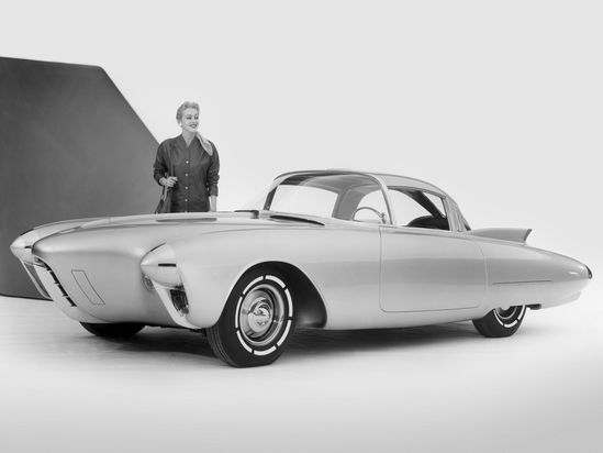 1956 Oldsmobile Golden Rocket Concept Car