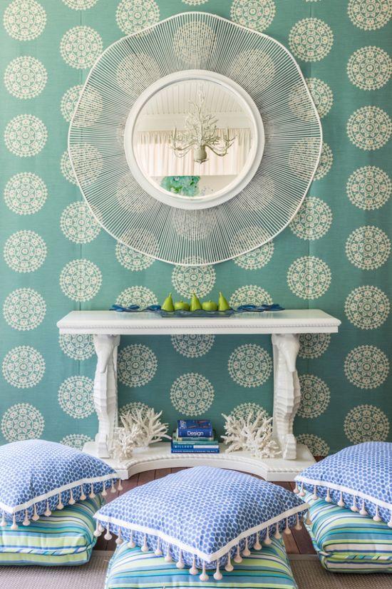 House of Turquoise: Kim E. Courtney Interiors