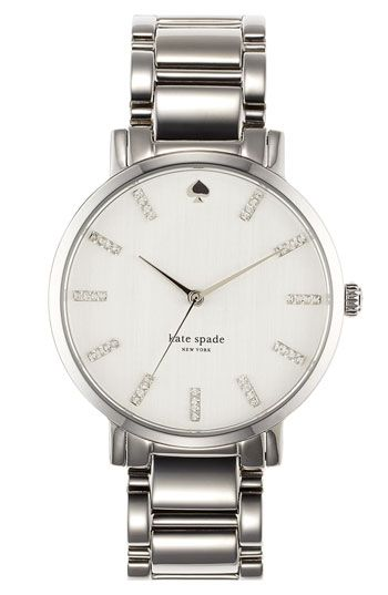 kate spade new york 'gramercy' round bracelet watch available at #Nordstrom