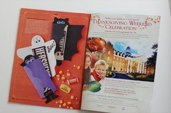 Fun Halloween Candy Bar Covers