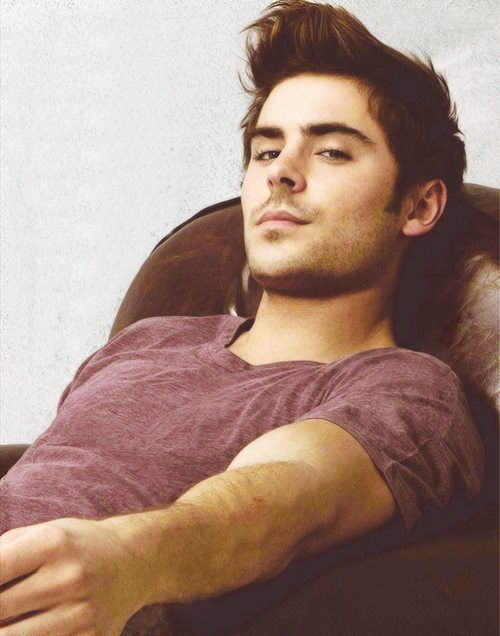 I love me some Zac Efron. Minus the disney singing and dancing.