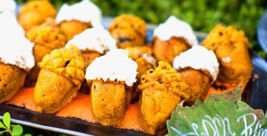Acorn Pumpkin Cakes Recipe
