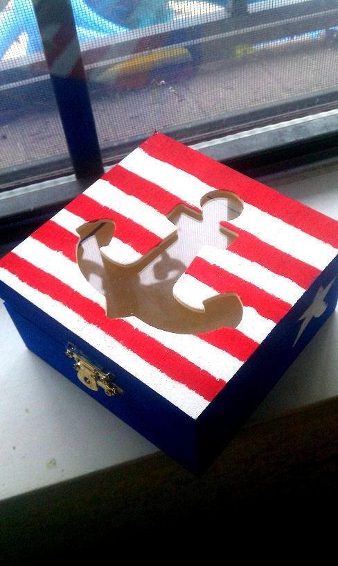 Anchor Jewelry Box