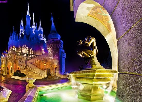 Cinderella & her castle
