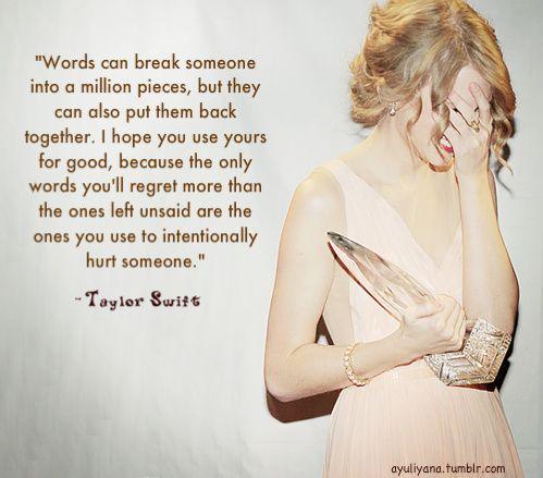 Taylor Swift #WomenWhoInspire