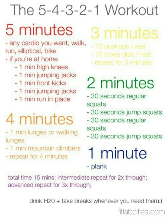 A daily workout plan to try if you aren't in training right now