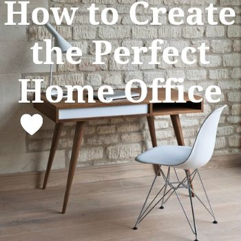 How to create the perfect home office, no matter how big or small your space.