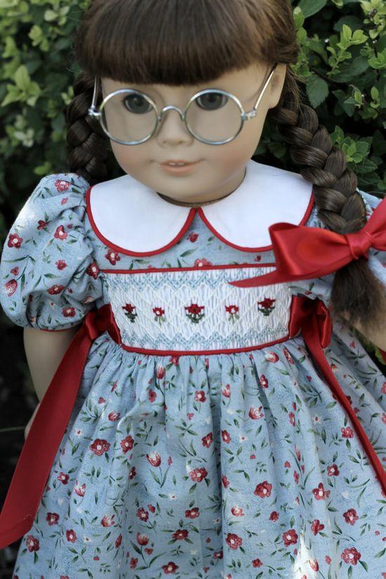 OOAK HandSmocked WWII Era Dress for by TheDressmakersDreams