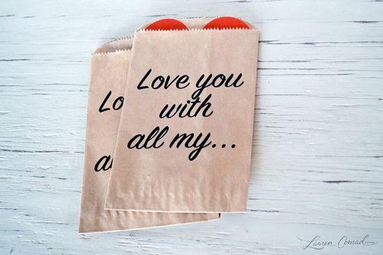 simple & sweet diy valentine