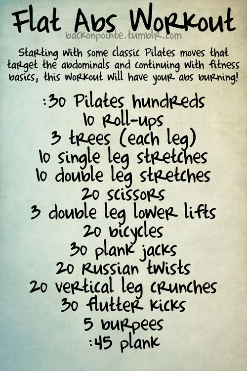 Also could do this-- Do this routine before every shower:  50 jumping jacks, 5 pushups, 20 crunches, 20 mountain climbers, and 30 second plank.