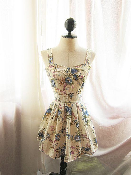 Etsy has some cute vintage dresses!