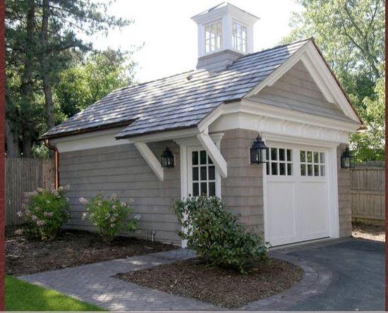 Single  garage or   shed