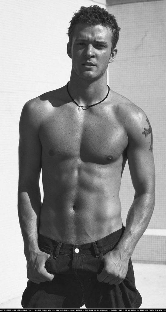 Justin Timberlake...good God he's hot!