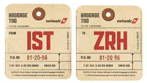 Travel tag #1