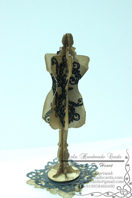 Aola Handmade Cards ...: Lets make MANNEQUIN - Tutorial