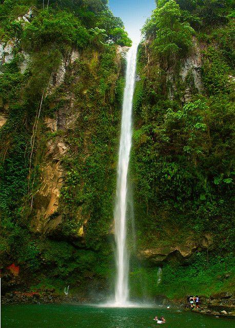 Katibawasan Falls in Camiguin Island, Philippines