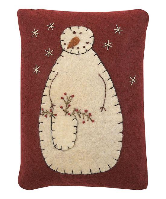 Red & Cream Snowman