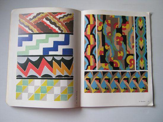 Vintage Art Deco Designs in Color, 1975