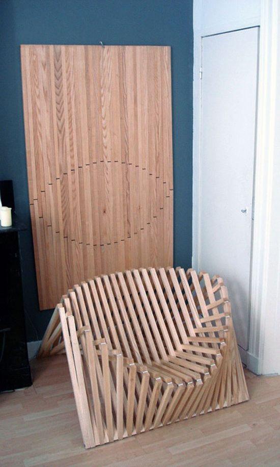 Дизайн на сгъваем стол