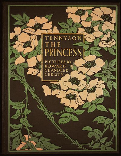 tennyson- the princess, book cover