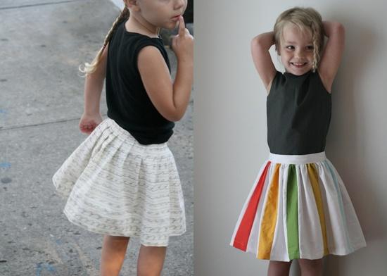 cutest handmade skirts