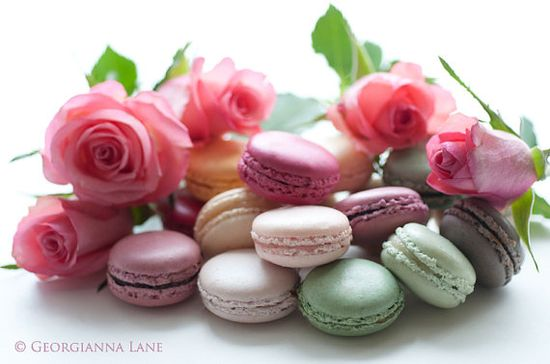 Paris Photography  Macaron Note Cards French by GeorgiannaLane
