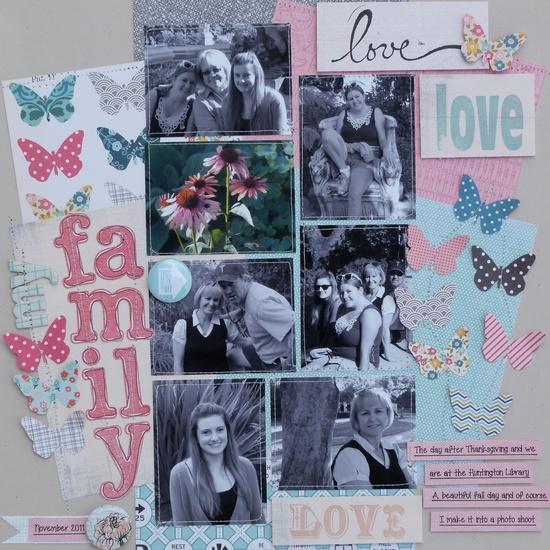 Love My Family - Scrapbook.com