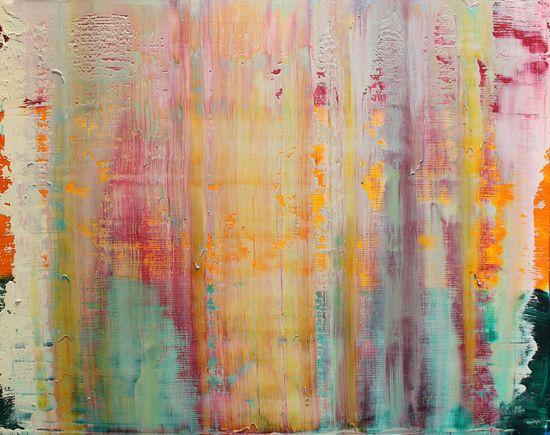 Harry Moody; Oil, 2013, Painting edition jade # 6/10