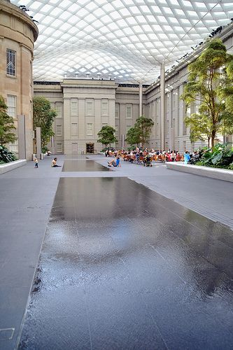 In the center of the National Portrait Gallery is the 28,000 square-foot Robert and Arlene Kogod Courtyard which was designed by Norman Foster. Conde Nast Traveler named the structure one of the seven modern architectural wonders.  National Portrait Gallery. 8th & F Street NW, Washington D.C.