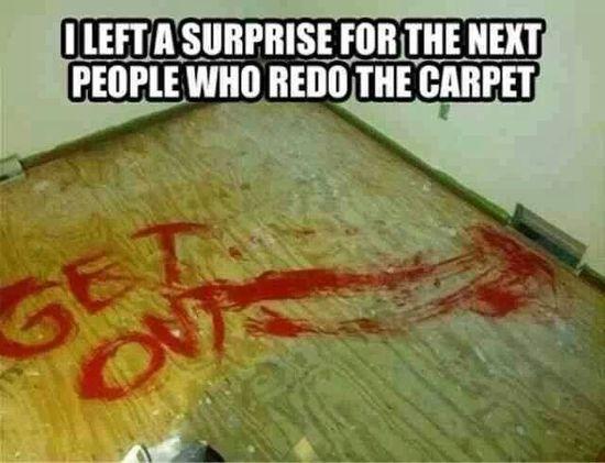 Creepy but funny prank