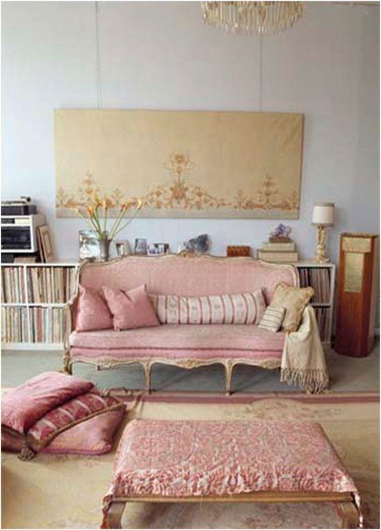 Romantic Living Room Decorating Ideas: Home Decor Photos: Romantic Style Living Room Design Ideas