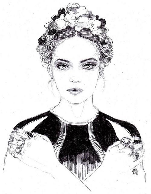 sketch by Ann