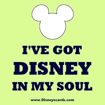 Disney in my soul