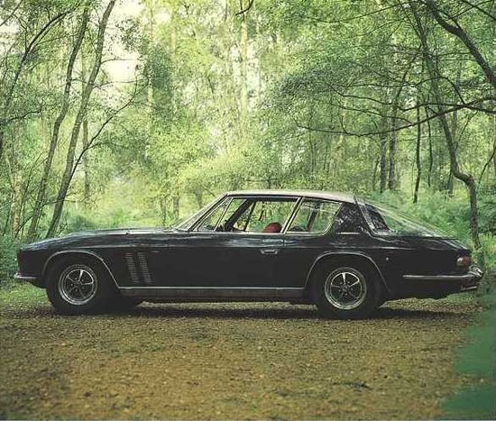 Jensen Interceptor - it may have become infamous for it's flaws, but seriously, what a pretty car. And such a cool name!
