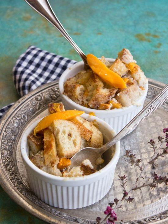 Mango Bread Pudding