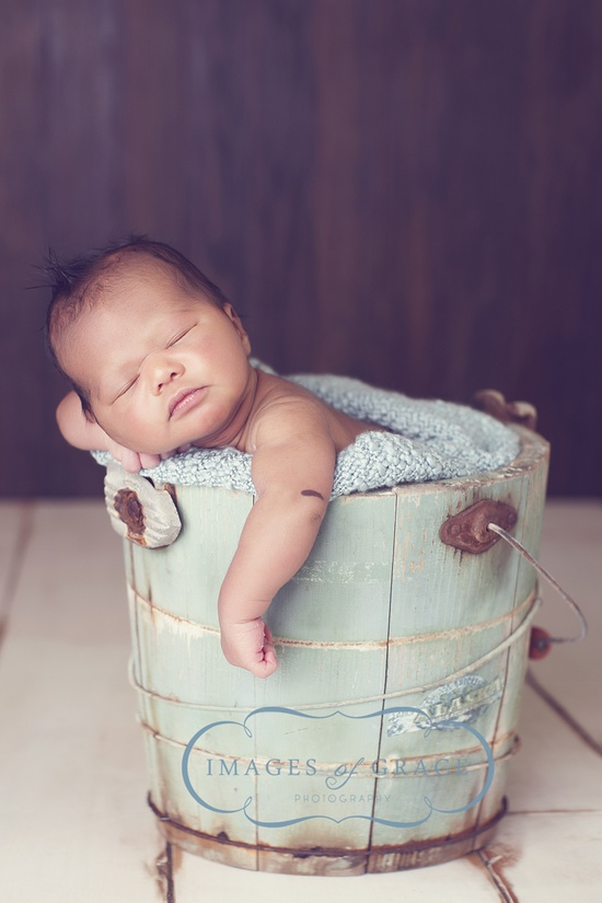 bucket 'o baby!