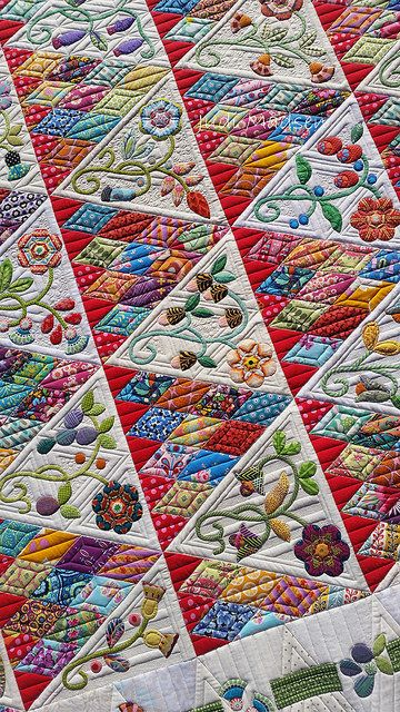 A6   Sweet Surrender by Sue Cody, pieced by Beth and quilted…   Flickr
