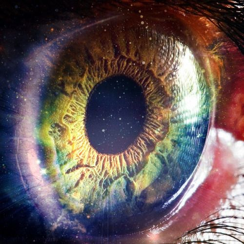 the human eye is a universe in and of itself ...