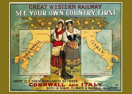 Would You Believe That Cornwall is the New Italy? - i love this!