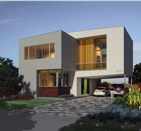 cool small modern houses design ideas