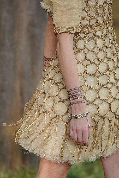 Chanel golden knots
