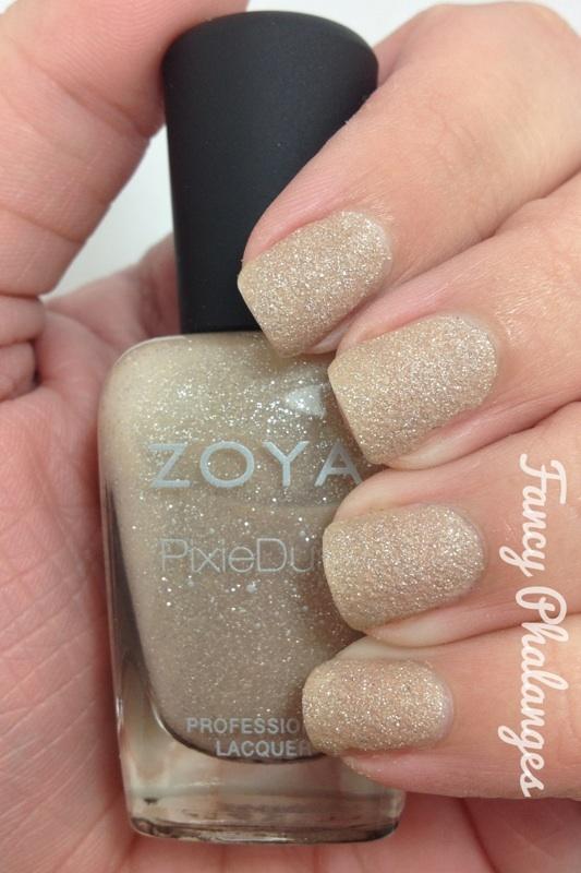 Zoya Godiva gold manicure