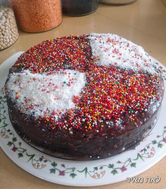 עוגת שוקולד מנצחת ב-5 דקות כמו בקונדיטוריה של סבתא לאה   אמהות מבשלות ביחד