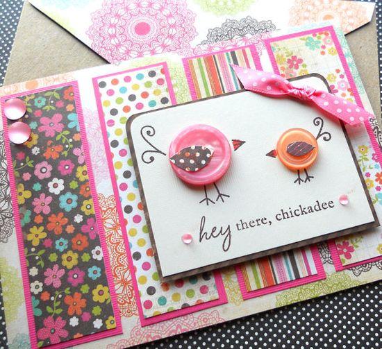 Love the button birds!