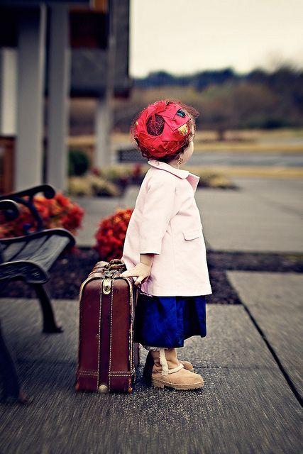 cute little traveller