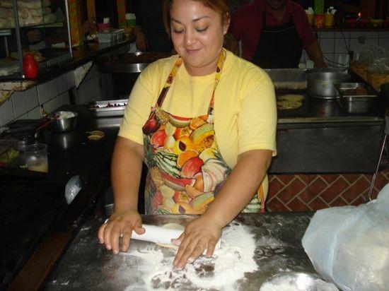#Family friendly #Taco shop in #Ensenada #Baja #Mexico with handmade tortillas